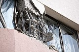 Structural damage on an<br>apartment building during<br>the earthquake of<br>February 27, 2010 in Chile