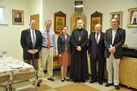 FFA Board members and staff at<br/>St. John the Baptist<br/>cathedral in Washington, DC.