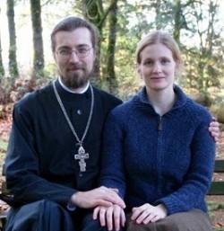 Fr.Sergei and matushka Elizabeth Sveshnikov.