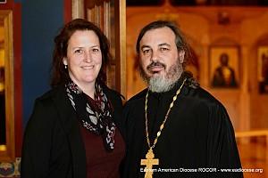Fr Mark and matushka Mancuso