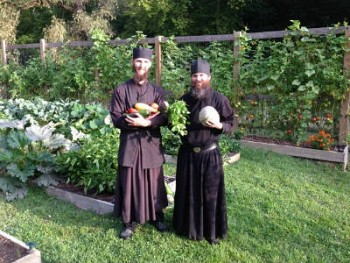 Thanks to you the brethren can provide most of their own vegetables.