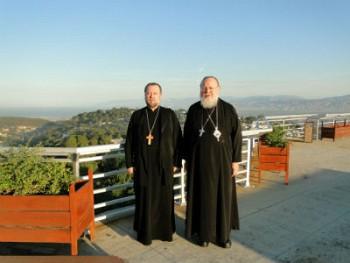 Metropolitan Hilarion and Fr. Alexander Antchoutine in Haiti.