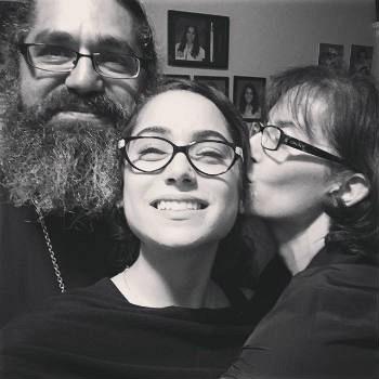 Fr. Demetrio, daughter Irene, matushka Hanna hope you can help them continue serving the Church.