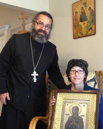 Fr.Demetrio Romeo and Matushka Hanna are grateful for your support!