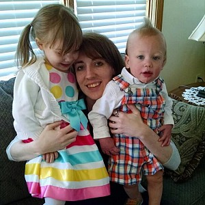 Matushka Elizabeth with her children.