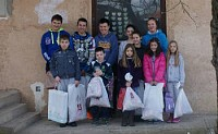 Serbian children in Kosovo receive gifts from donors like you.