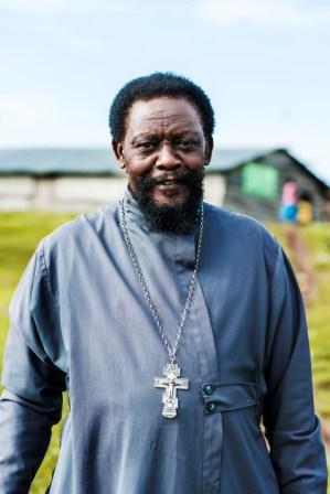 Fr Christopher Walusimbi, Bukasa Island, Uganda.